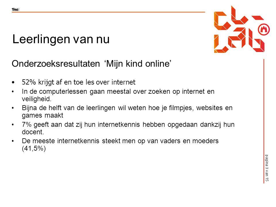 pagina 14 van 15 Titel FFzoeken! http://www.schooltv.nl/ffzoeken/