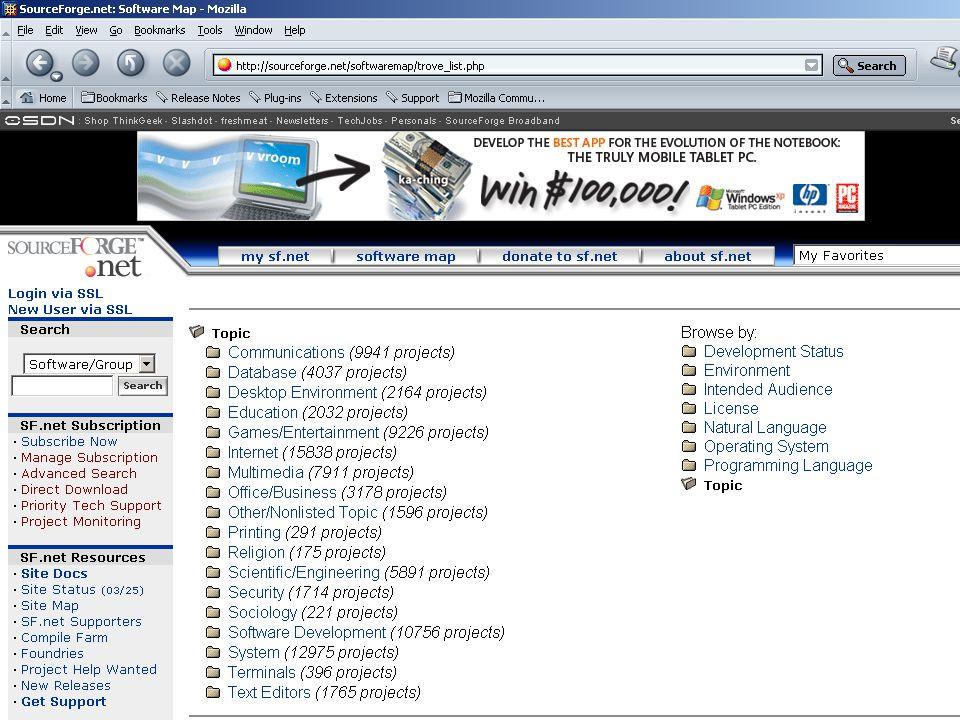 dinsdag 6 april 2004 programma Open Standaarden en Open Source Software voor de Overheid Relatie Open Standaarden Open Source  OS zegt iets over techniek, OSS zegt iets over het licentiemodel  Open source software maakt doorgaans goedgebruik van open standaarden  Openheid  Manier van totstandkoming