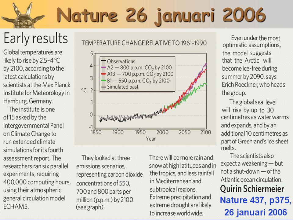 Nature 26 januari 2006