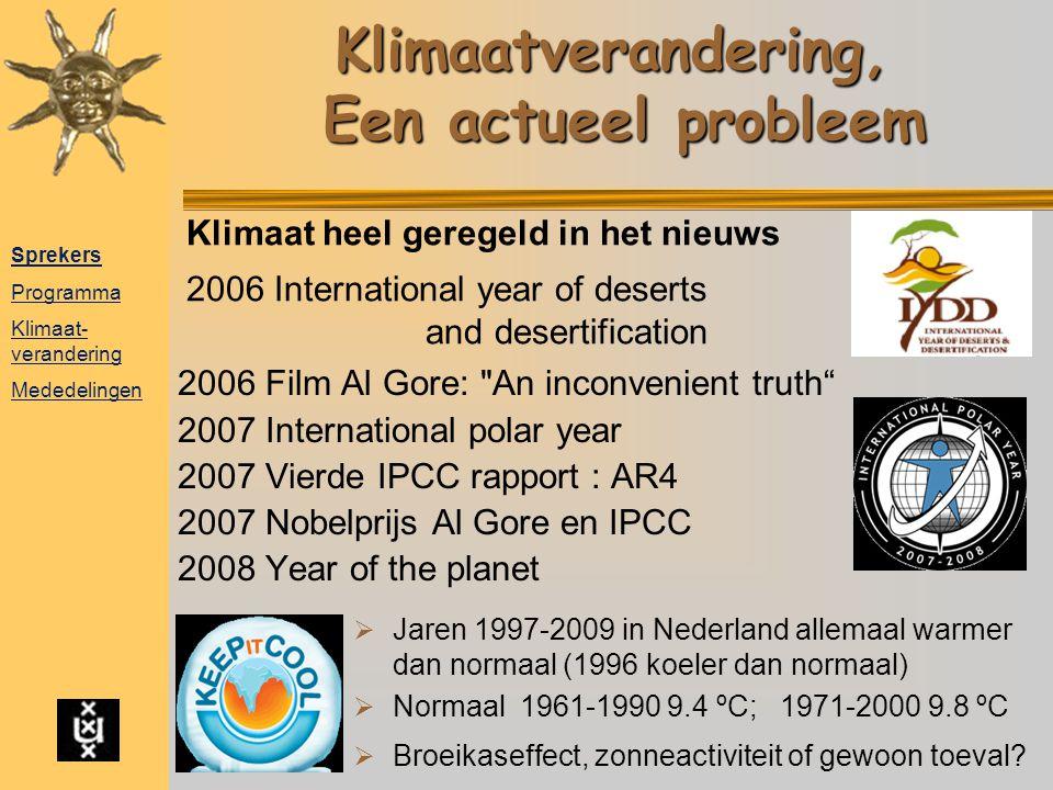 Klimaatverandering, Een actueel probleem 2006 Film Al Gore:
