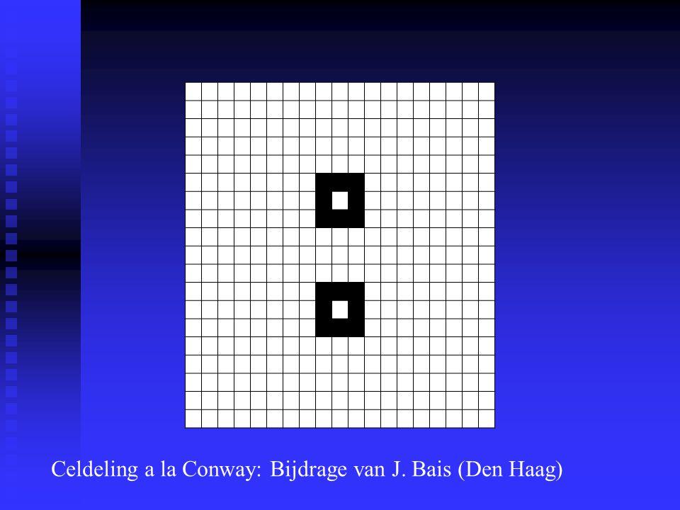 Celdeling a la Conway: Bijdrage van J. Bais (Den Haag)