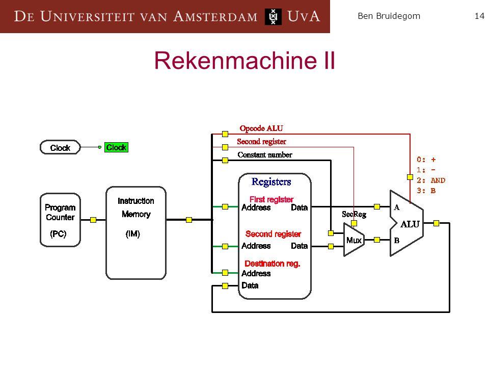 14Ben Bruidegom Rekenmachine II