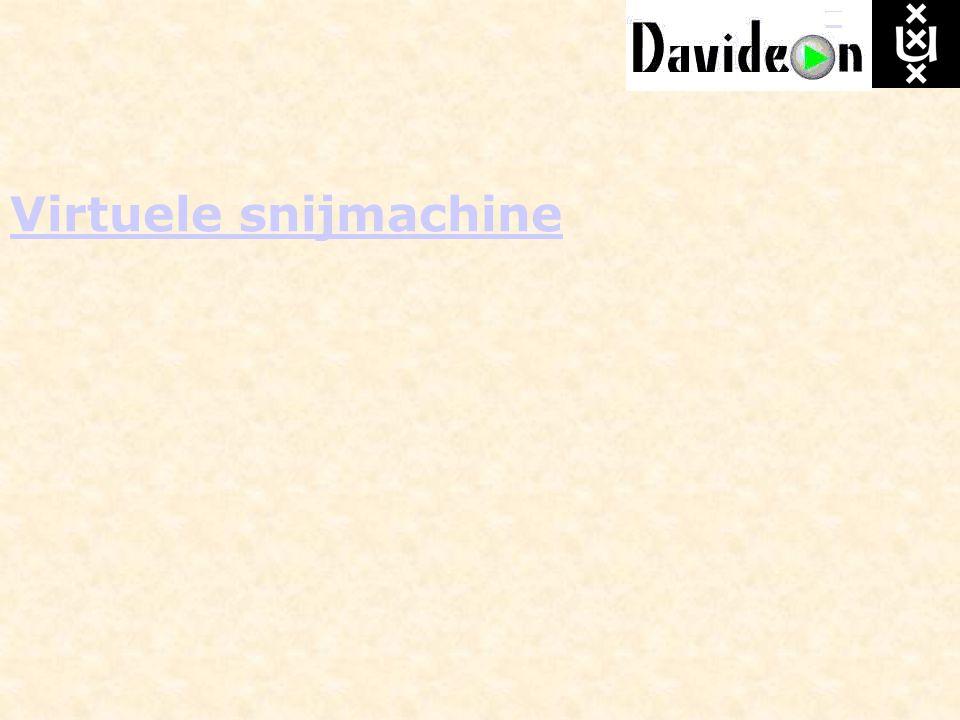 Virtuele snijmachine