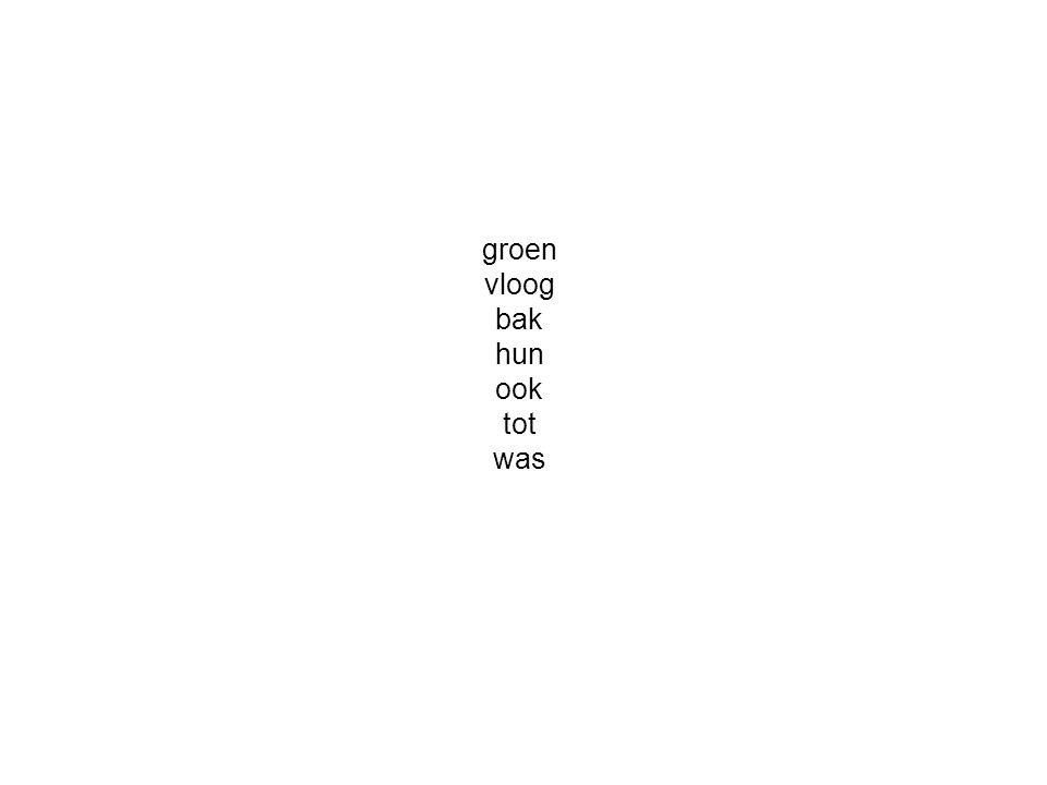 groen vloog bak hun ook tot was