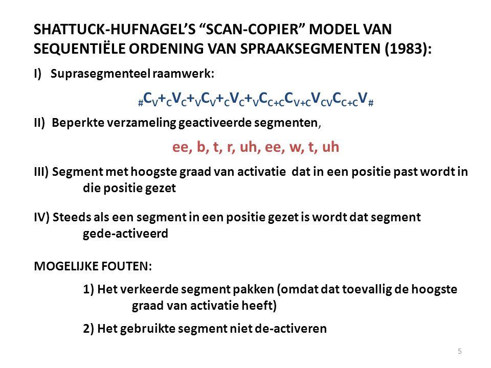 Anticipatie: Twee fouten in het scan-copier proces: 1.Het verkeerde segment pakken, t.w.