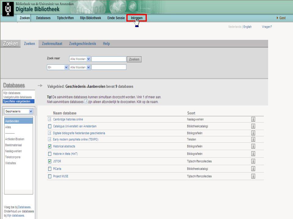 Samenvatting Attendering: bepaalde zoekacties worden automatisch en regelmatig uitgevoerd Berichtgeving per mail Instellen via Zoekgeschiedenis Inloggen noodzakelijk