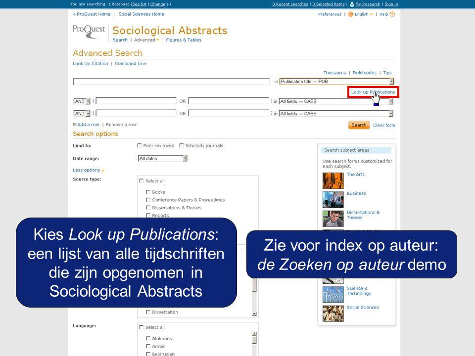 U bent geïnteresseerd in 2 tijdschriften: Tijdschrift voor economische en sociale geografie en Tijdschrift voor sociale wetenschappen