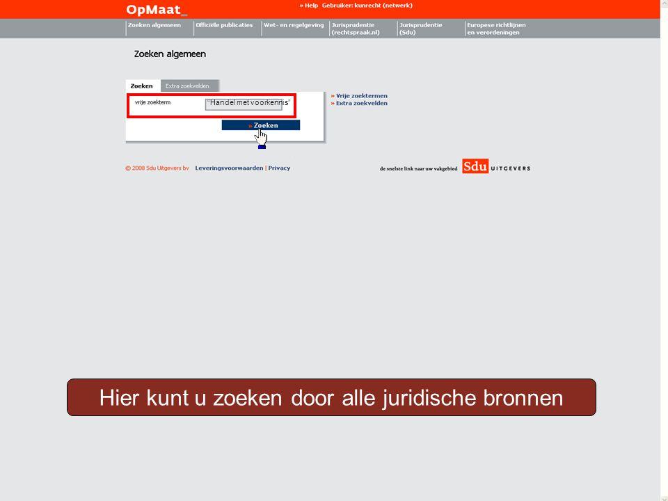 Jurisprudentie (Sdu) Officiële publicaties