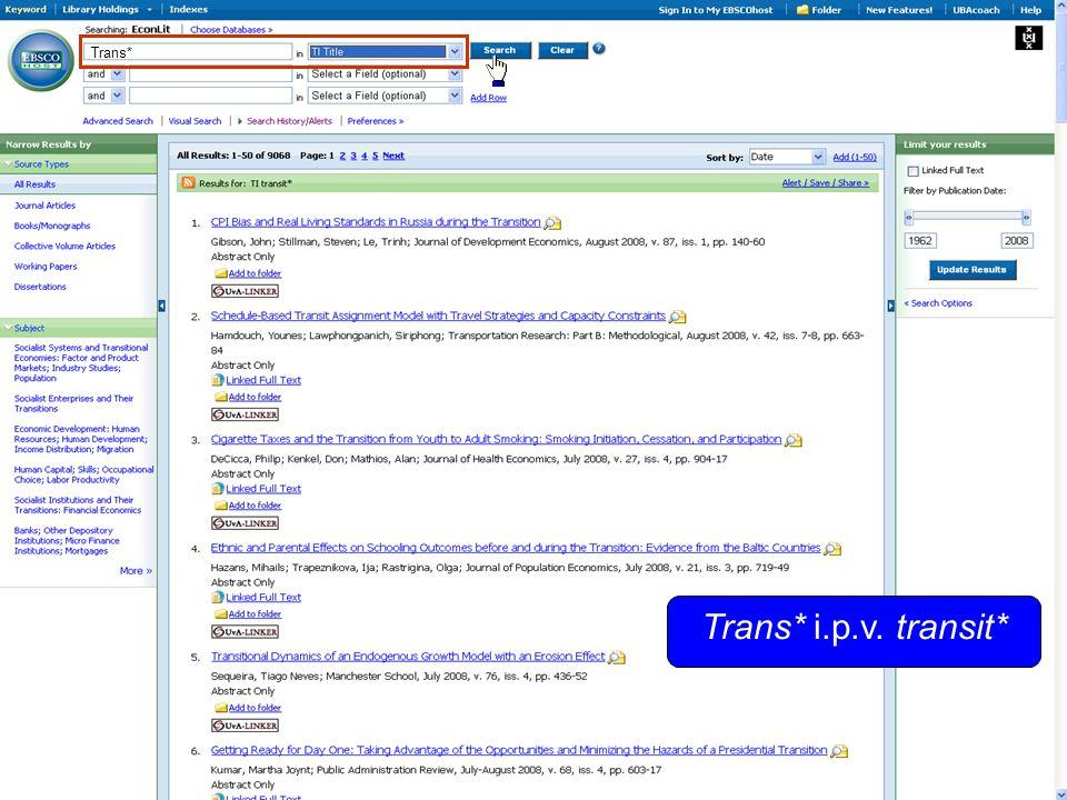Trans* i.p.v. transit* Trans*