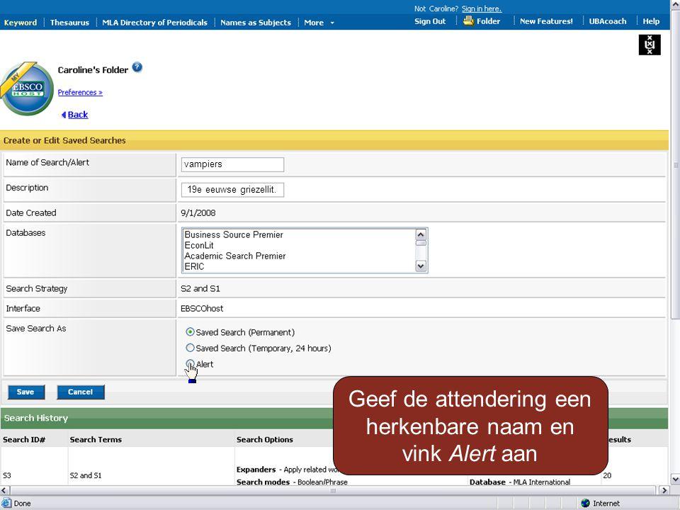 Scroll bij het volgende scherm naar onderen, vul een e- mailadres in en klik op Save …….…..…..@..........