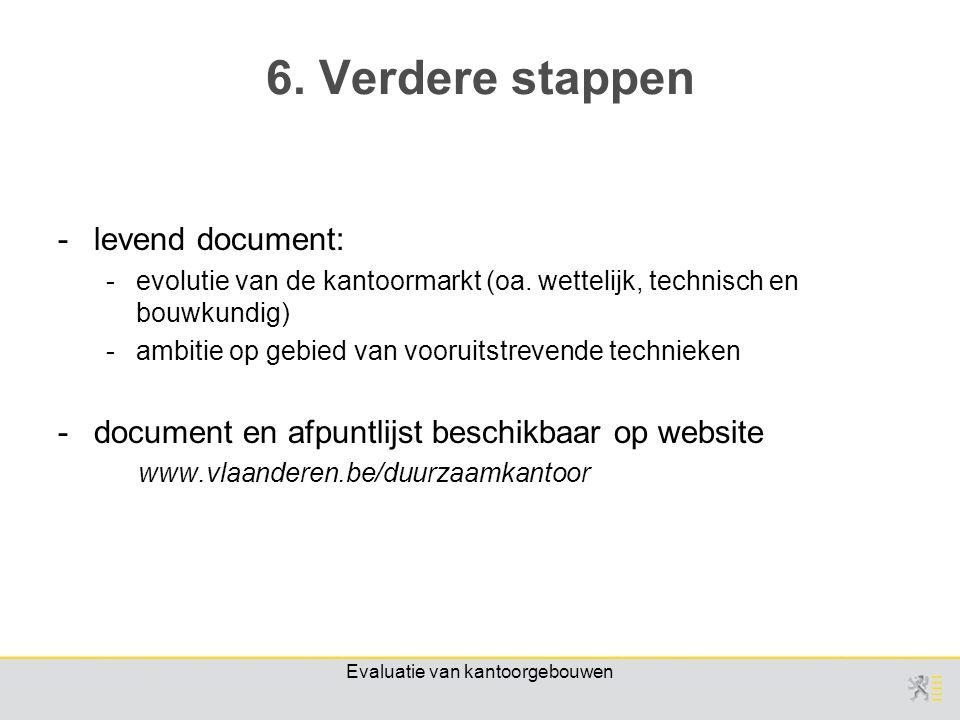 Evaluatie van kantoorgebouwen -levend document: -evolutie van de kantoormarkt (oa.