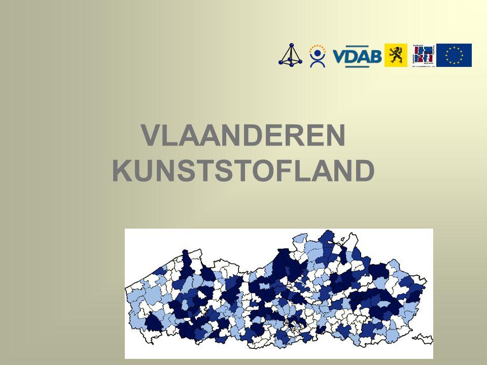 PRODUCTIE VAN KUNSTSTOFFEN kg/inwoner - 2003