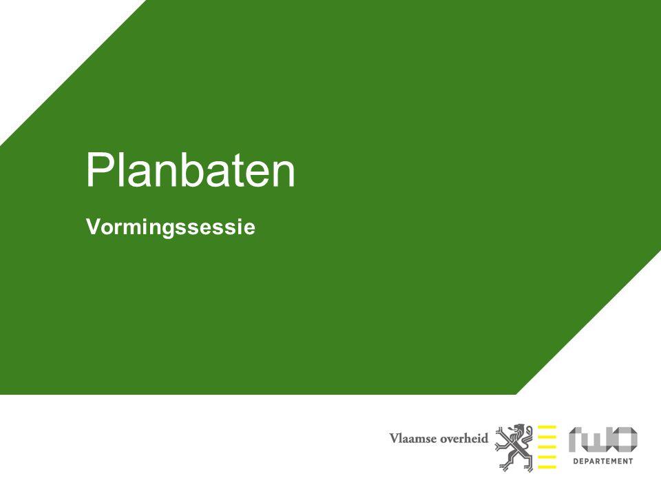Agenda Waarom een planbatenheffing.