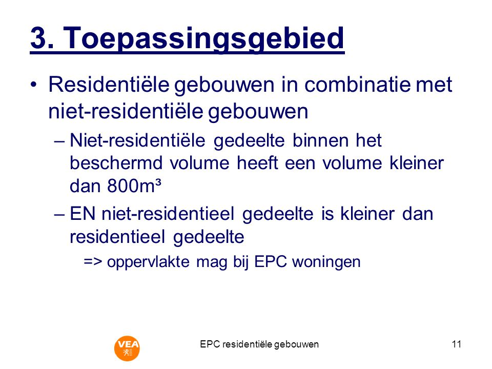 EPC residentiële gebouwen11 3.