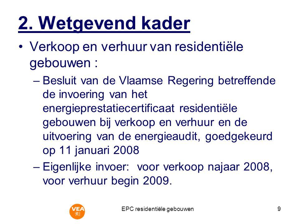 EPC residentiële gebouwen10 3.