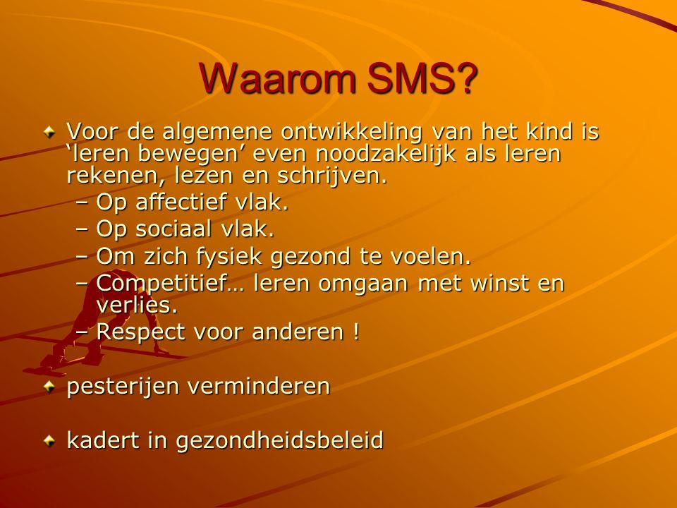 Waarom SMS.