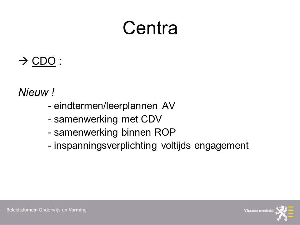 Centra  CDO : Nieuw .