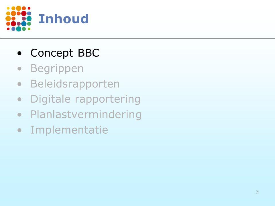 44 Planlastvermindering Proces toekenning sectorale subsidie –De Vlaamse sectorale administraties (SA) halen de benodigde informatie uit de datawarehouse van ABB –De SA evalueren de geplande beleids- doelstellingen en actieplannen –De SA berichten uiterlijk op 30 april de besturen over de aanvaarding van hun subsidie-aanvraag –Dit proces wordt om de 3 jaar hernomen