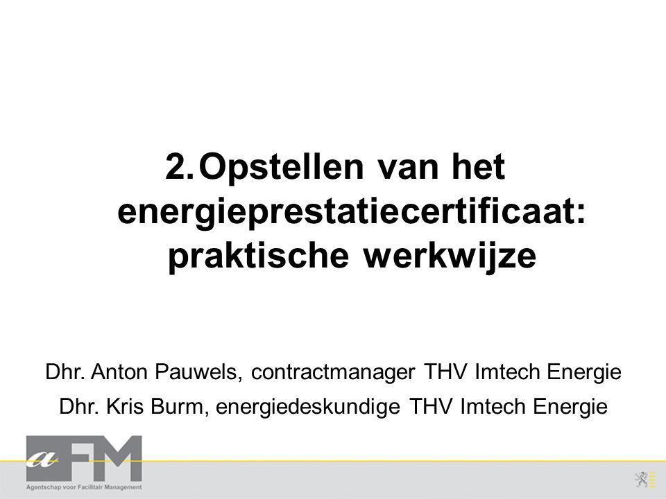 Dhr.Anton Pauwels, contractmanager THV Imtech Energie Dhr.