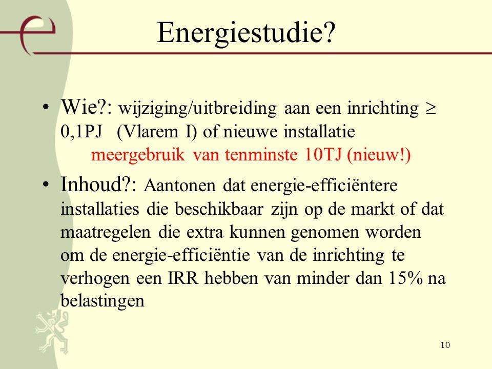 10 Energiestudie.