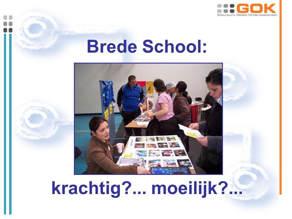 Brede School: krachtig?... moeilijk?...