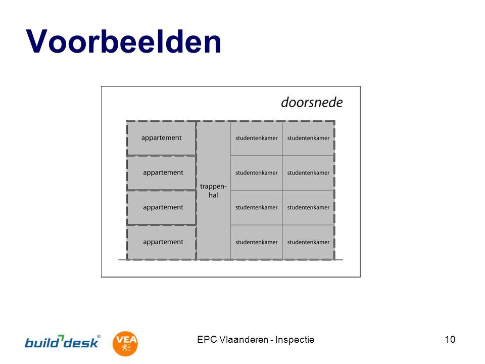 EPC Vlaanderen - Inspectie10 Voorbeelden
