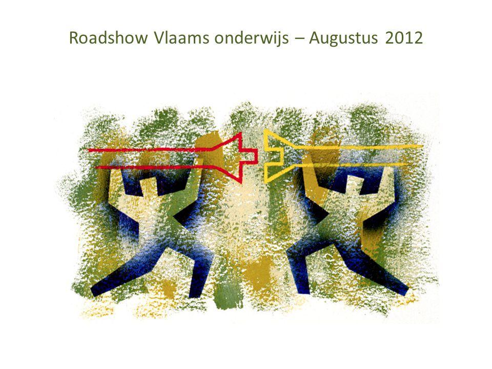 Roadshow Vlaams onderwijs – Augustus 2012