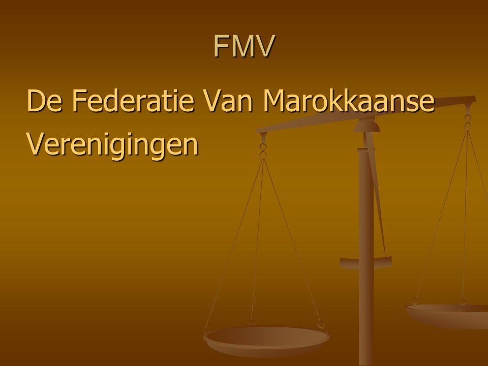 FMV De Federatie Van Marokkaanse Verenigingen
