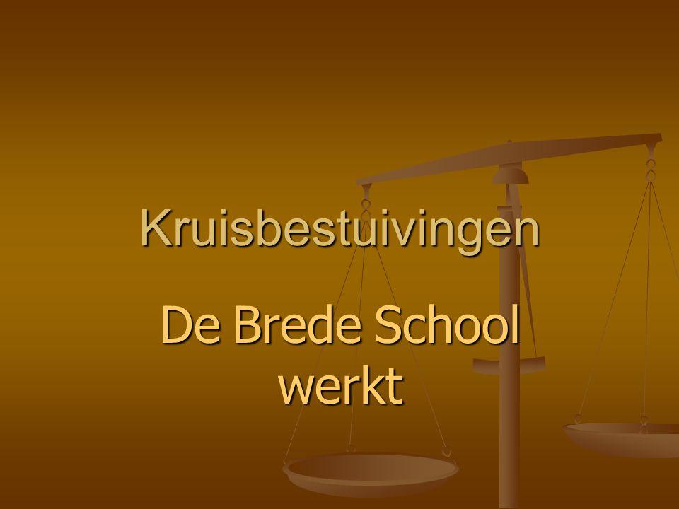 Kruisbestuivingen De Brede School werkt