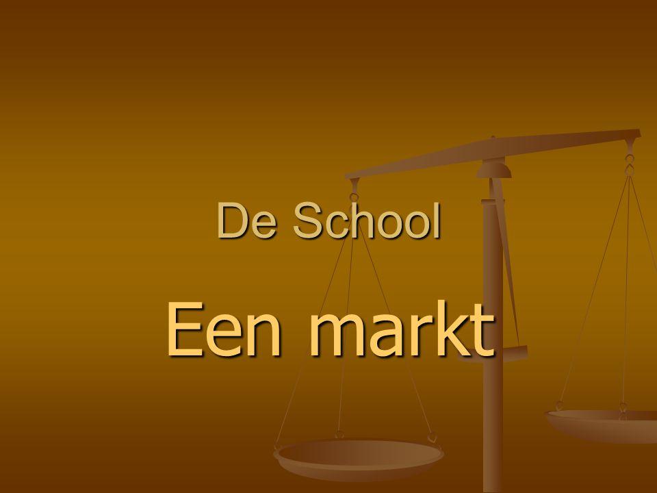 De School Een markt