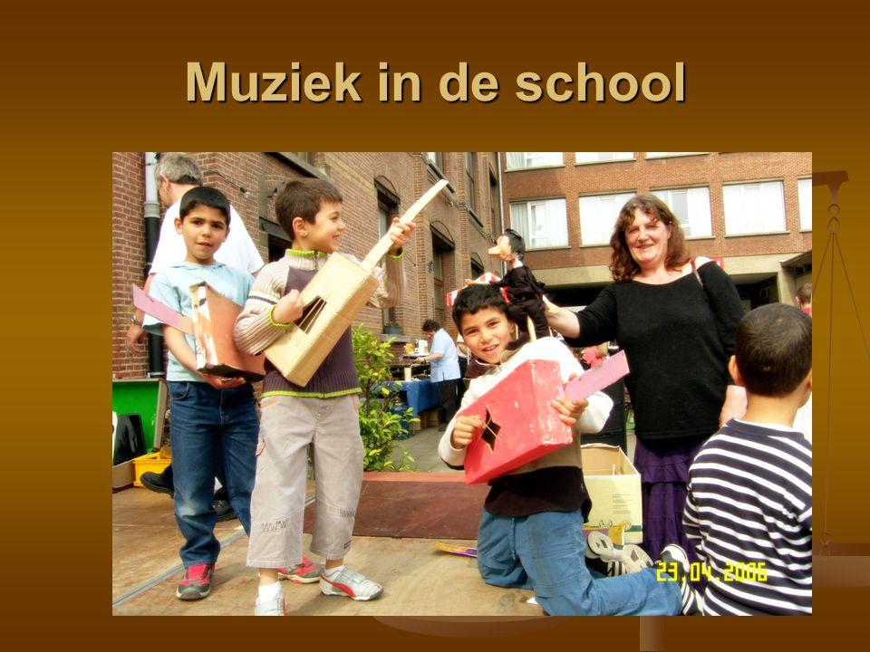 Muziek in de school