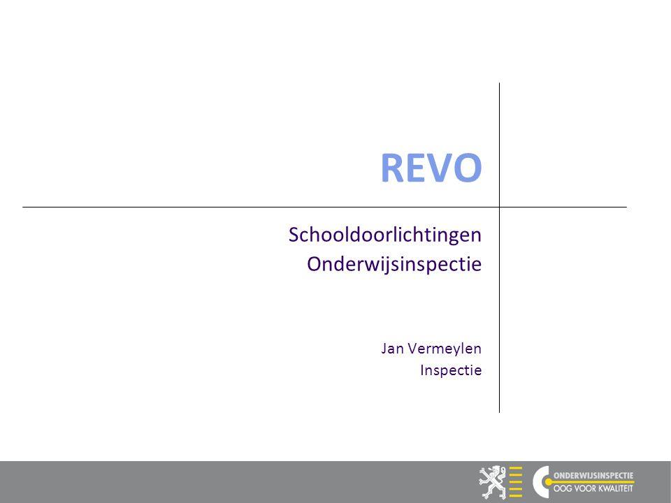 REVO Schooldoorlichtingen Onderwijsinspectie Jan Vermeylen Inspectie