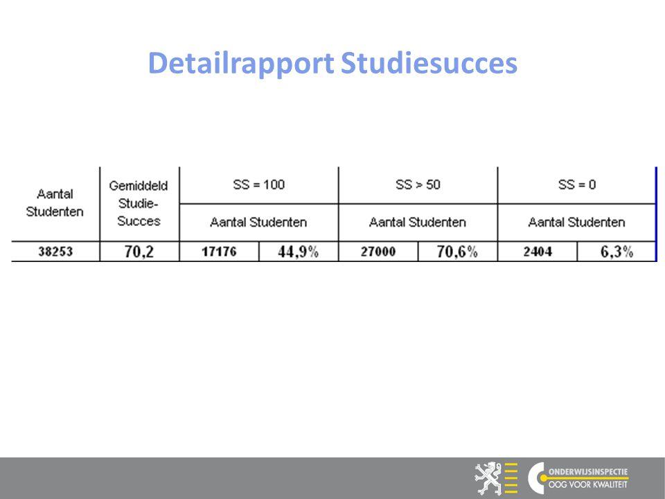 11 Detailrapport Studiesucces