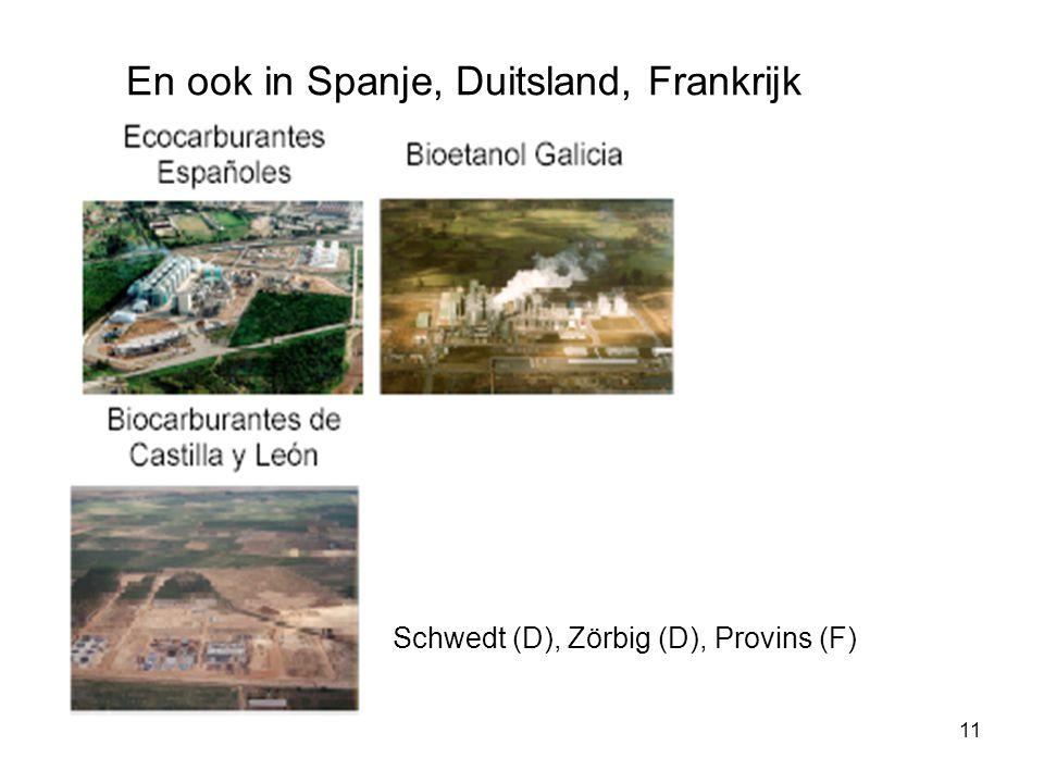 11 En ook in Spanje, Duitsland, Frankrijk Schwedt (D), Zörbig (D), Provins (F)