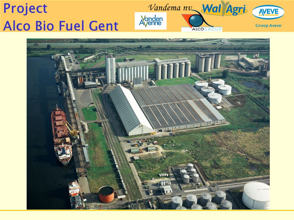 Groep Aveve Project Alco Bio Fuel Gent Vandema nv