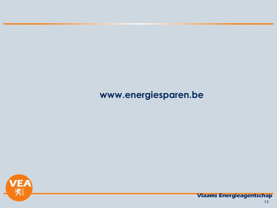 www.energiesparen.be 13