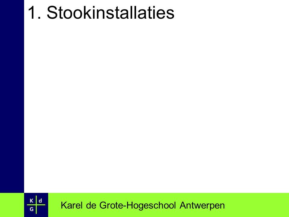 1. Stookinstallaties Karel de Grote-Hogeschool Antwerpen