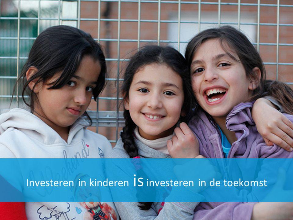 Investeren in kinderen is investeren in de toekomst