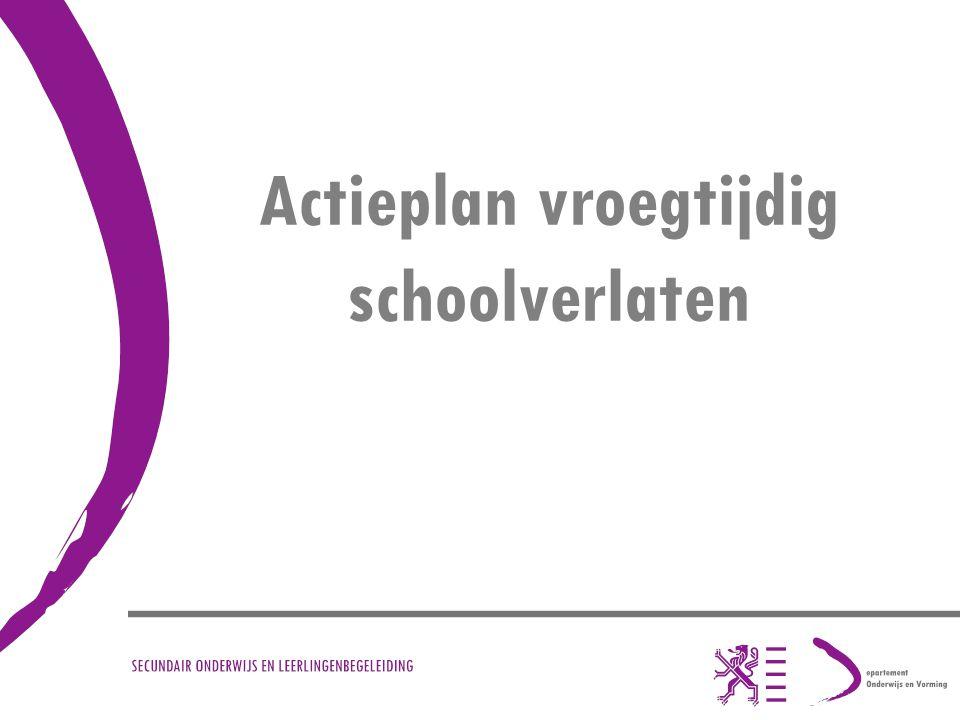 Actieplan vroegtijdig schoolverlaten