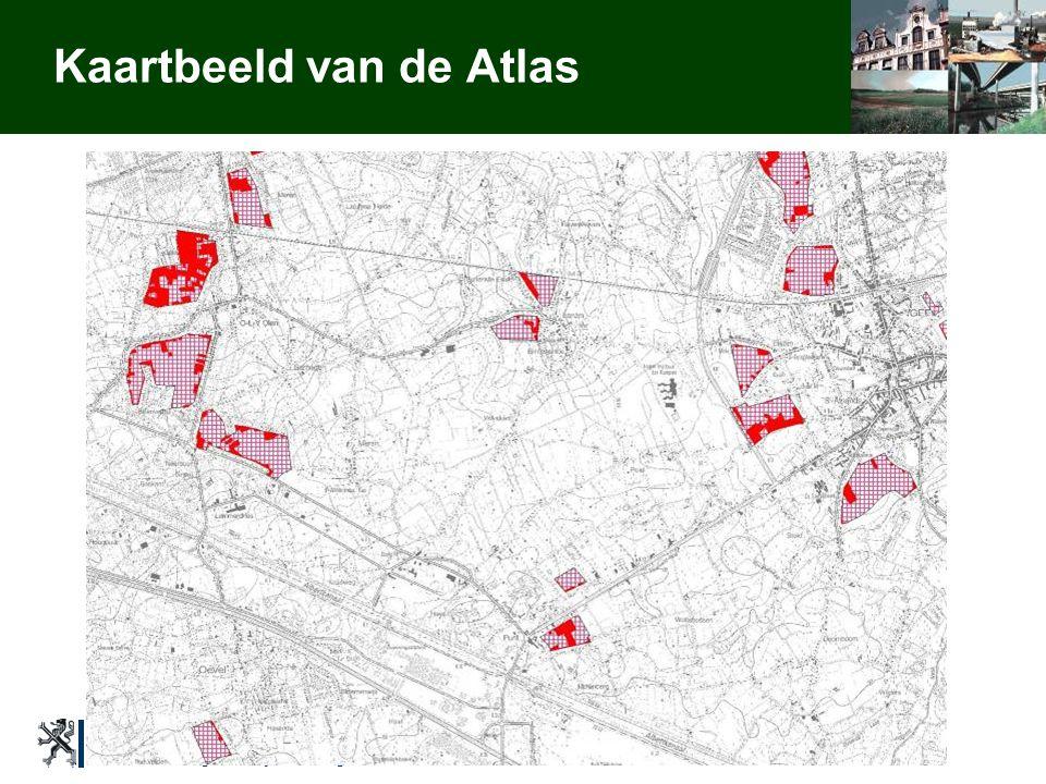 Ministerie van de Vlaamse Gemeenschap AROHM - afdeling Ruimtelijke Planning Toelichting Verenigde Commissies 30/11/2005 Isabelle Loris Kaartbeeld van de Atlas