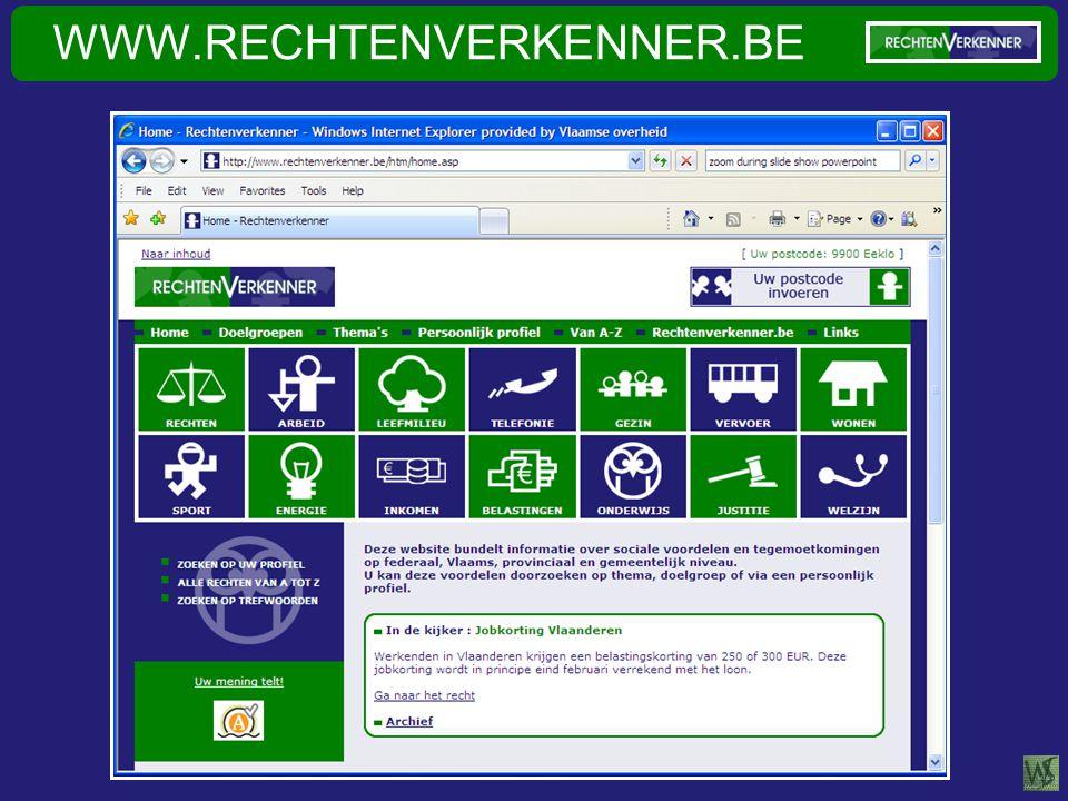 WWW.RECHTENVERKENNER.BE