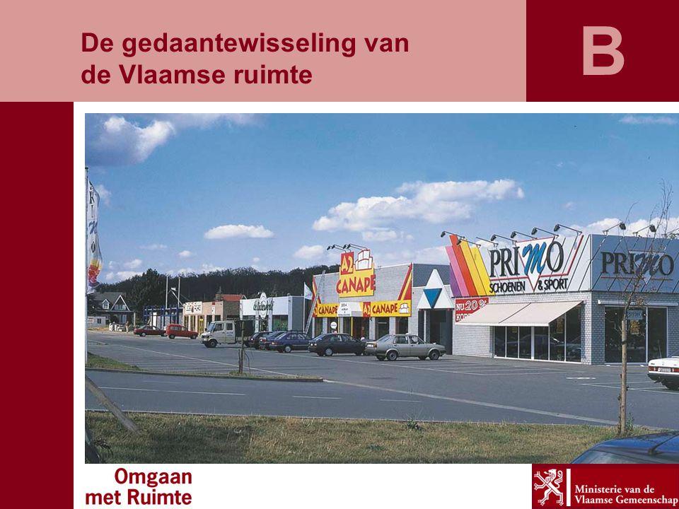 De gedaantewisseling van de Vlaamse ruimte B