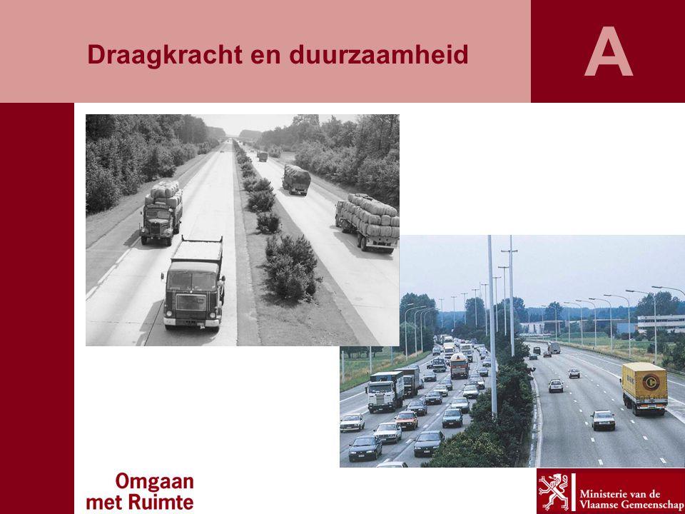 De gedaantewisseling van de Vlaamse ruimte Alsmaar meer mensen en gezinnen - gezinsverdunning - welvaartsstijging -...