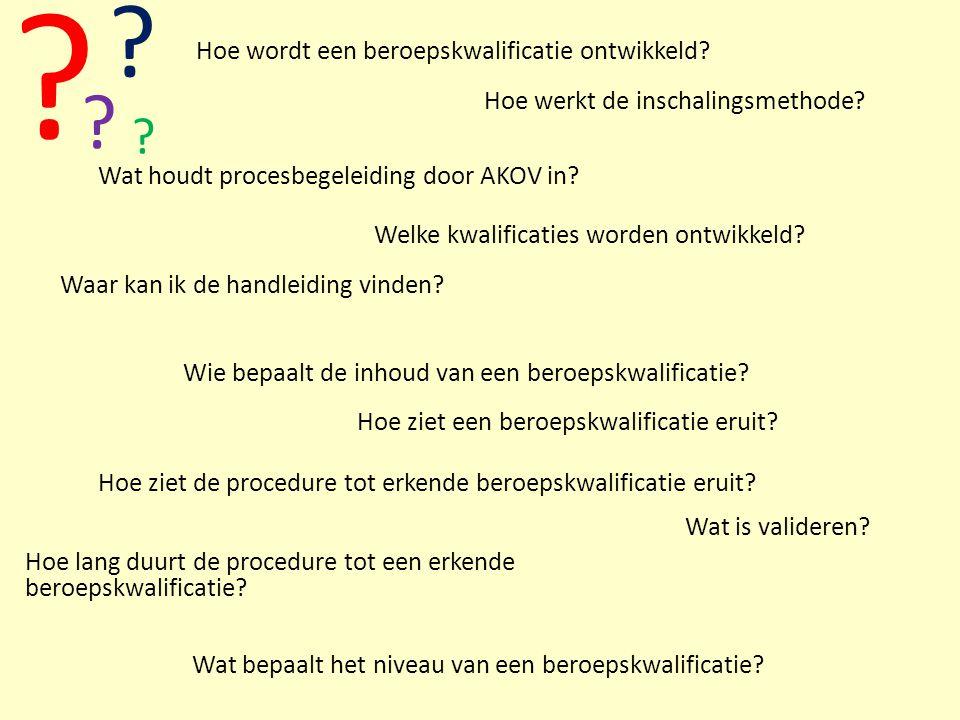 datumTitel presentatie 28 Hoe ziet de procedure tot erkende beroepskwalificatie eruit? Hoe werkt de inschalingsmethode? ? Wie bepaalt de inhoud van ee