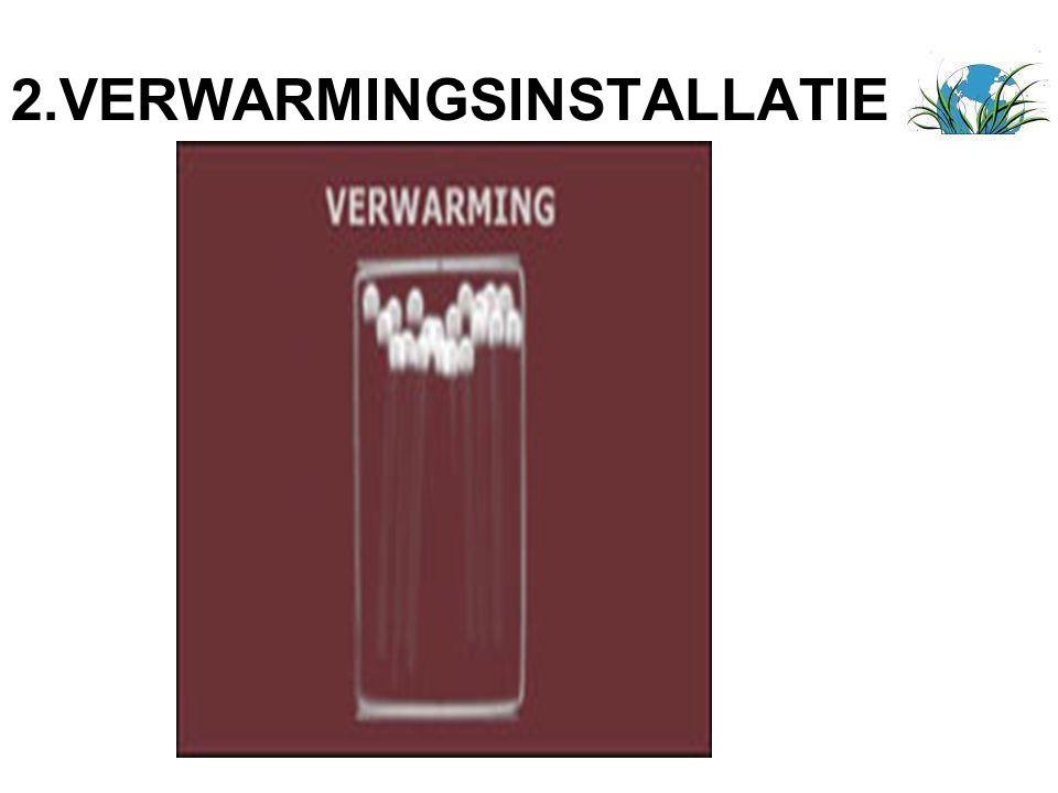 2.VERWARMINGSINSTALLATIE