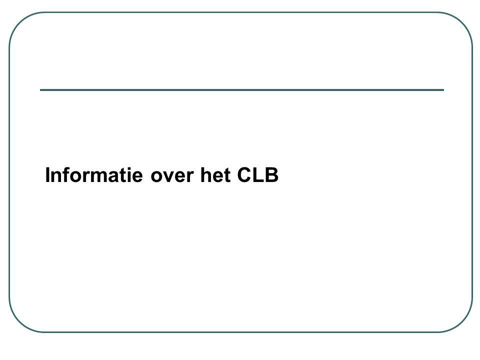 Informatie over het CLB
