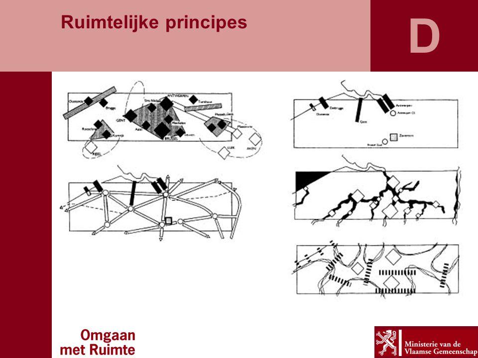 D Gedeconcentreerde bundeling Ruimtelijke principes