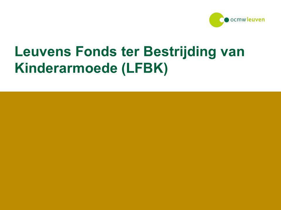 Leuvens Fonds ter Bestrijding van Kinderarmoede (LFBK)