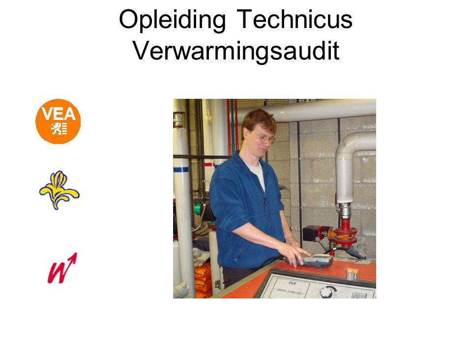Opleiding Technicus Verwarmingsaudit