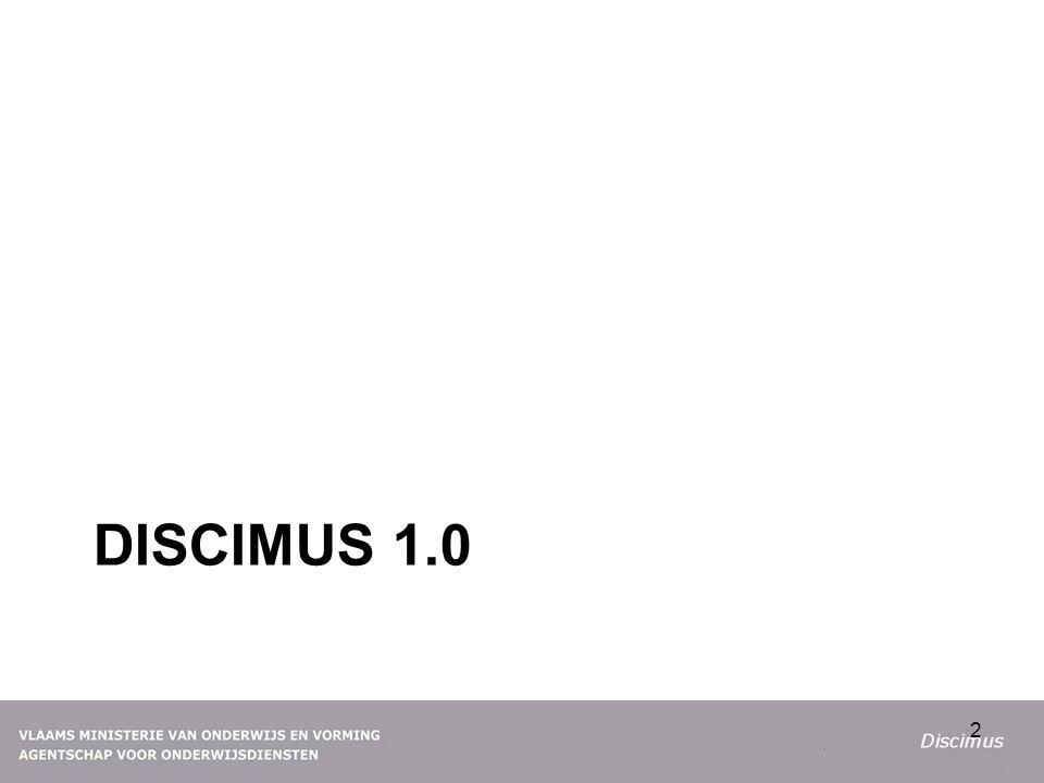 DISCIMUS 1.0 2